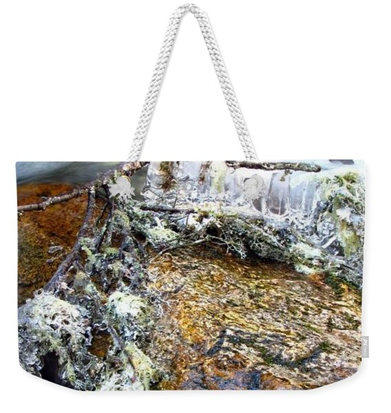 Ice Ornaments Weekender Tote Bag