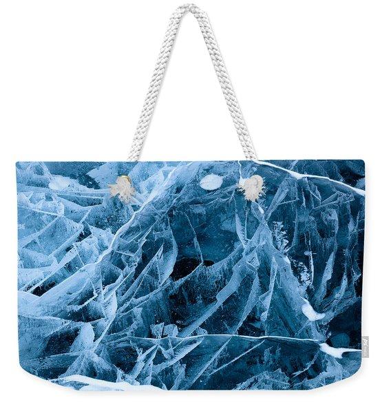Ice Triangle Weekender Tote Bag