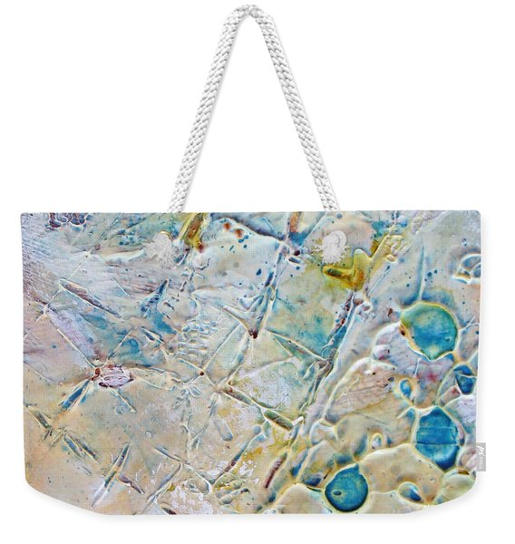 Iced Texture I Weekender Tote Bag