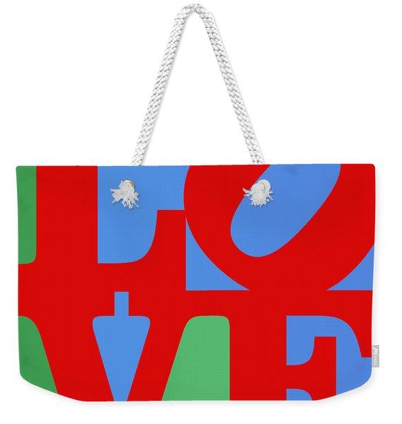 Iconic Love Weekender Tote Bag