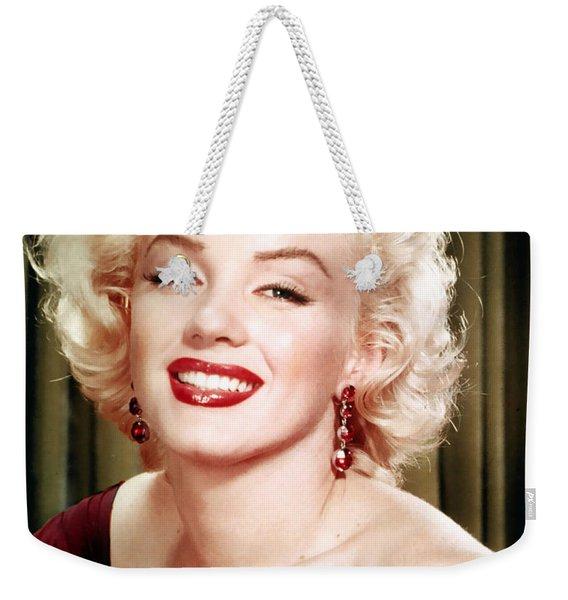 Iconic Marilyn Monroe Weekender Tote Bag