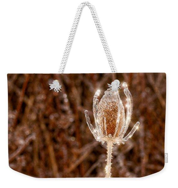 Icy Thistle Weekender Tote Bag