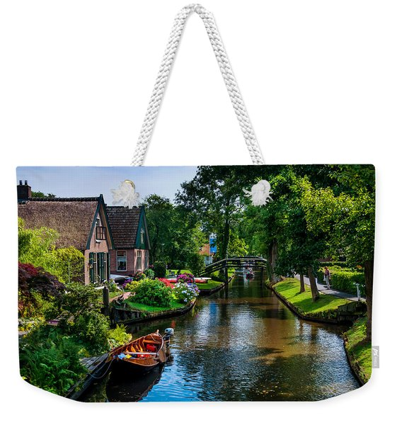 Idyllic Village 15. Venice Of The North Weekender Tote Bag