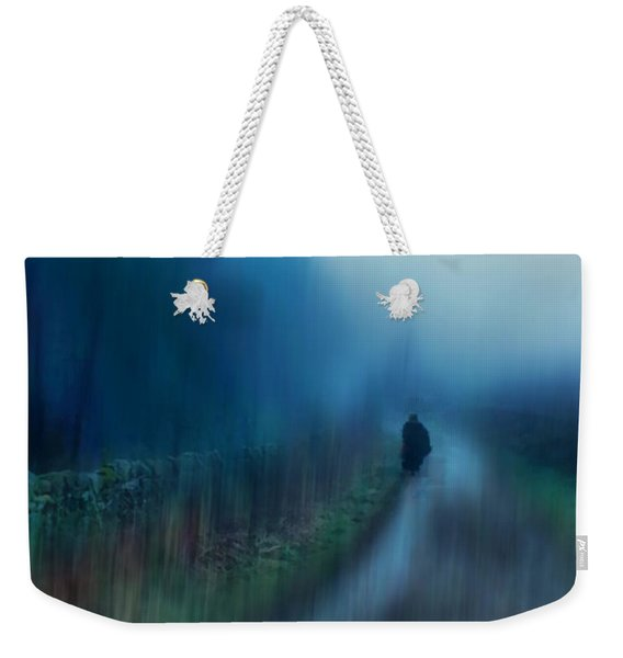 If You Are Leaving Just Leave Weekender Tote Bag