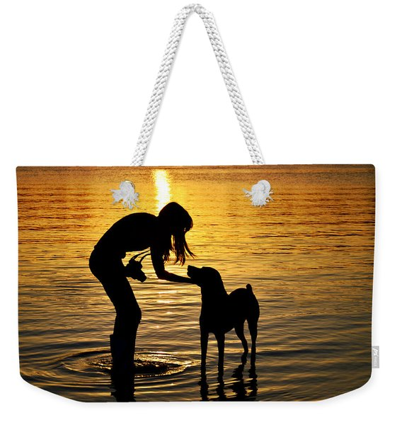 if you call I will answer Weekender Tote Bag