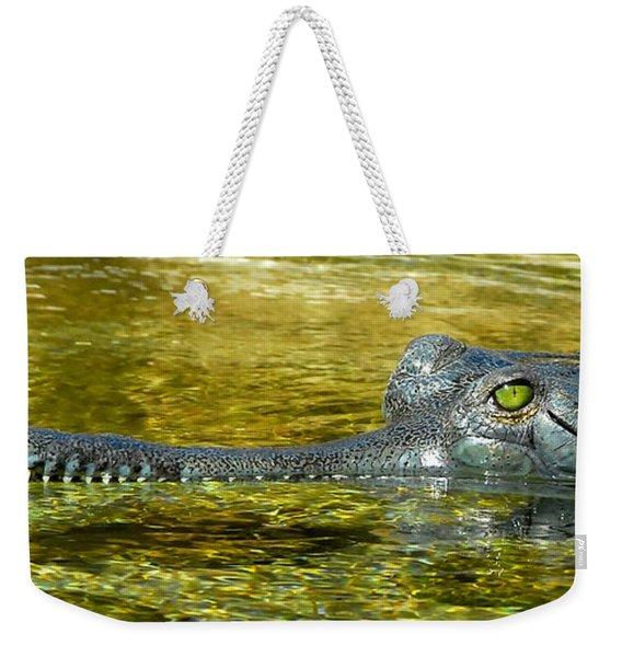 Gharialis Gangeticus Weekender Tote Bag
