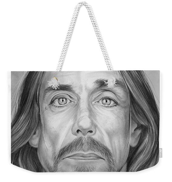 Iggy Pop Weekender Tote Bag