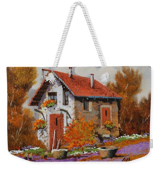 Il Prato Viola Weekender Tote Bag