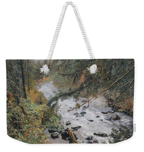 Il Ruscello Di Montagna Weekender Tote Bag