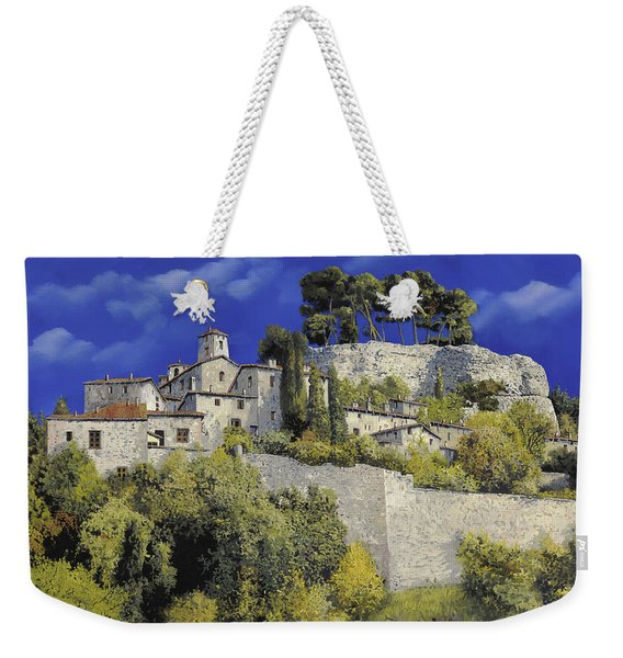 Il Villaggio In Blu Weekender Tote Bag