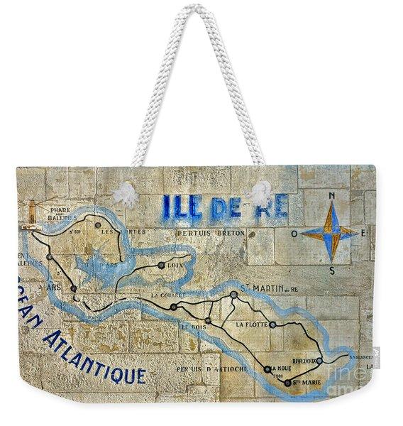 Ile De Re Weekender Tote Bag