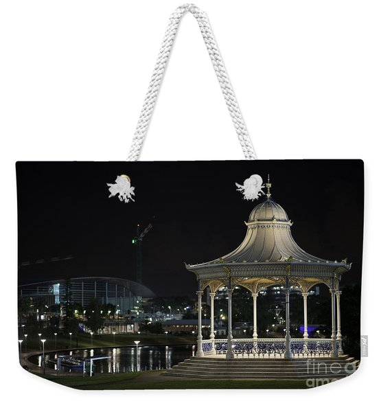 Illuminated Elegance Weekender Tote Bag
