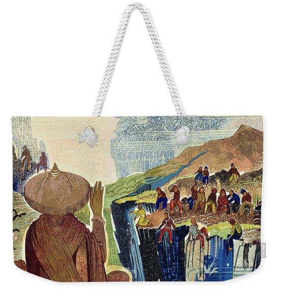 Illustration For Kim By Rudyard Kipling Weekender Tote Bag