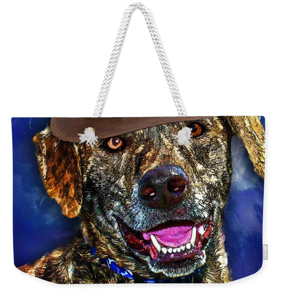 I'm A Canine Community Reporter Weekender Tote Bag