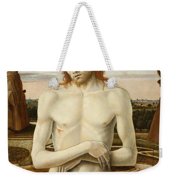 Imago Pietatis Weekender Tote Bag