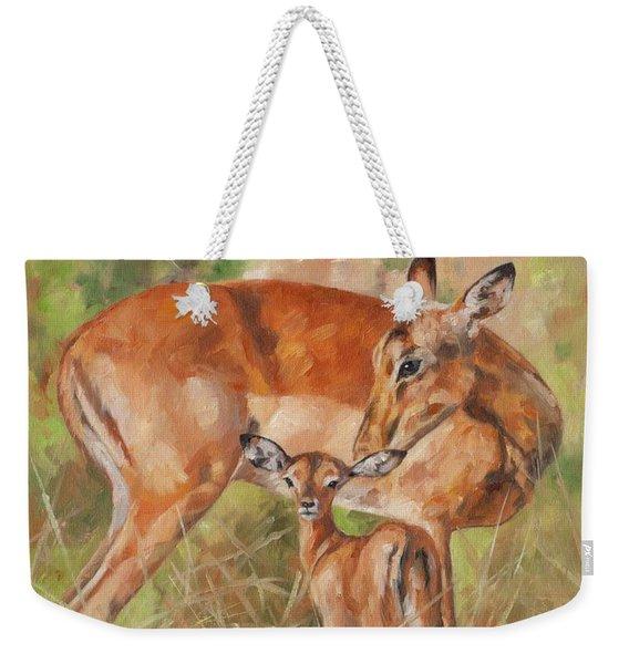 Impala Antelop Weekender Tote Bag