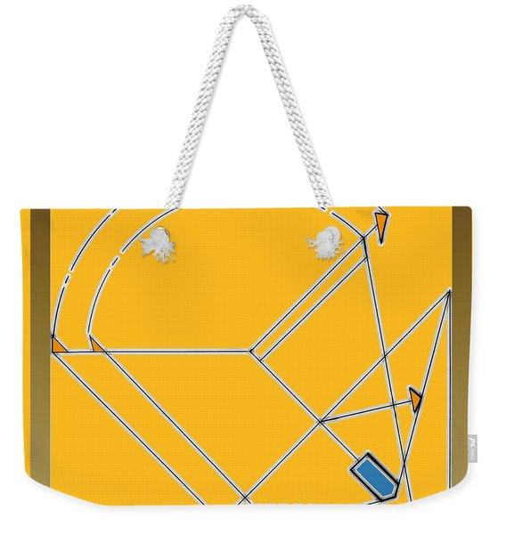 Imperfect  Weekender Tote Bag
