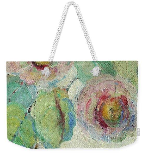Impressionist Roses  Weekender Tote Bag