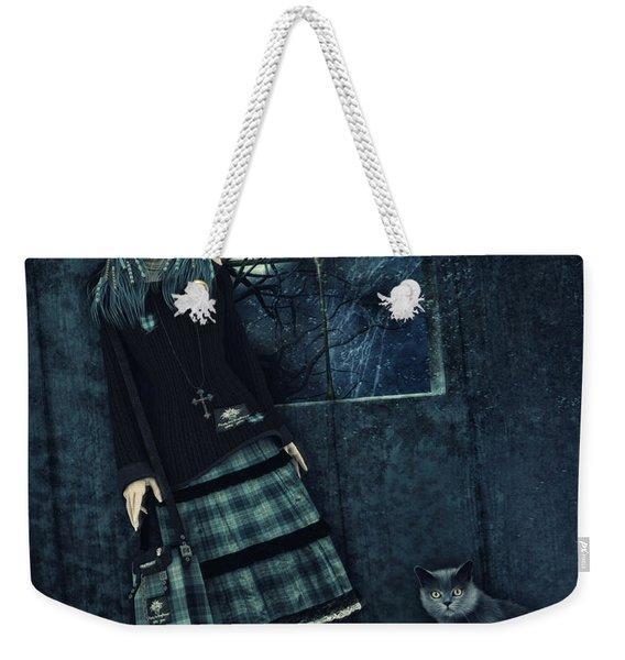 In A Dark Room Weekender Tote Bag