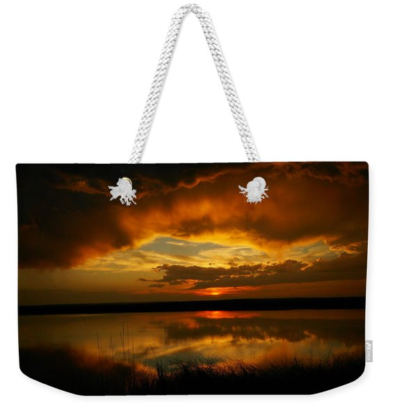 In All His Glory Weekender Tote Bag