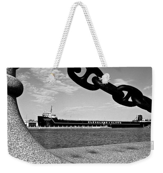 In Port Weekender Tote Bag