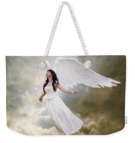 In The Arms Of The Angels Weekender Tote Bag