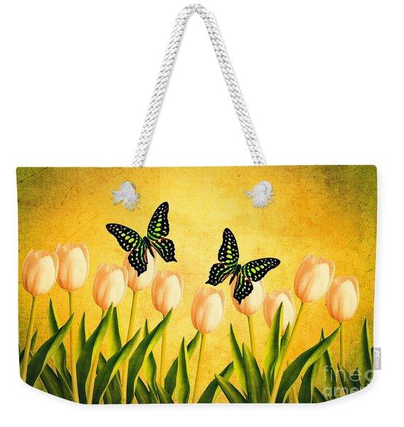 In The Butterfly Garden Weekender Tote Bag