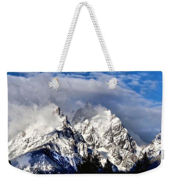 The Teton Range Weekender Tote Bag