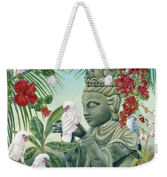 In The Company Of Angels Weekender Tote Bag
