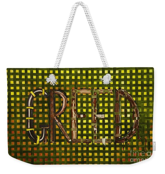 In The Fabric Of Our Society Weekender Tote Bag