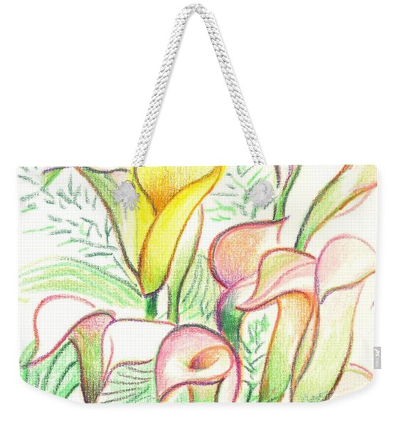 In The Golden Afternoon Weekender Tote Bag