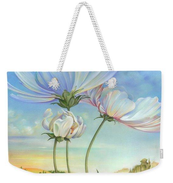 In The Half-shadow Of Wild Flowers Weekender Tote Bag