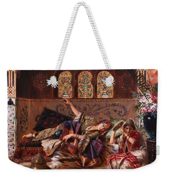 In The Harem Weekender Tote Bag