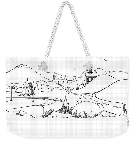 In The Land Of Brigadoon  Weekender Tote Bag