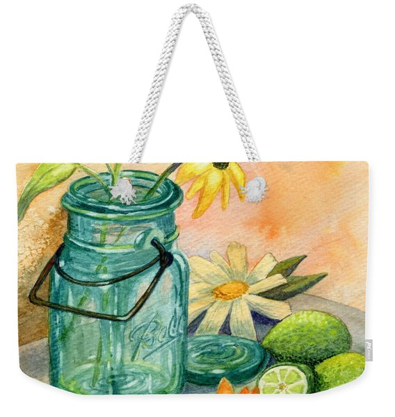 In The Lime Light Weekender Tote Bag