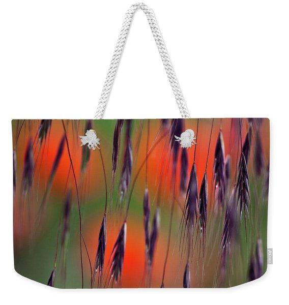 In The Meadow Weekender Tote Bag
