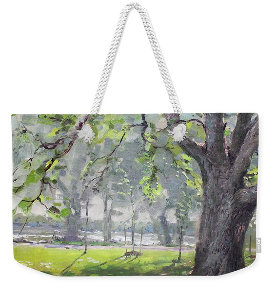 In The Shade Of The Big Tree Weekender Tote Bag