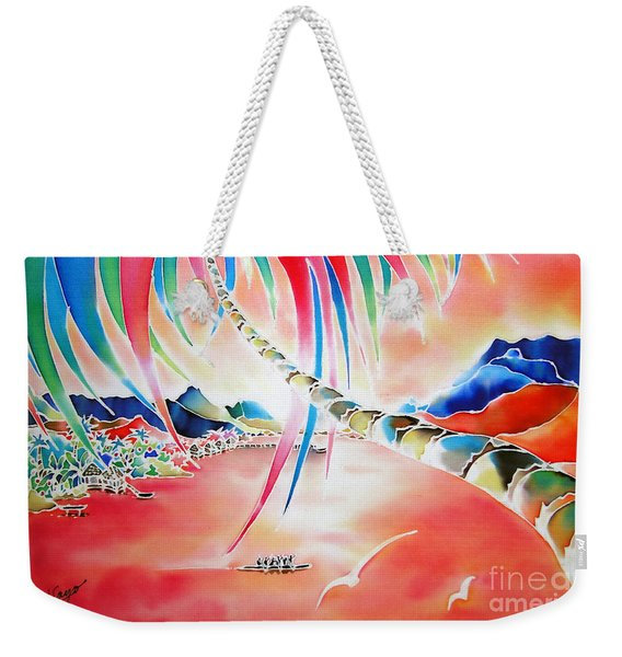 In The Sunset Weekender Tote Bag