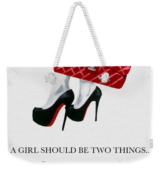 Independent Quote Weekender Tote Bag