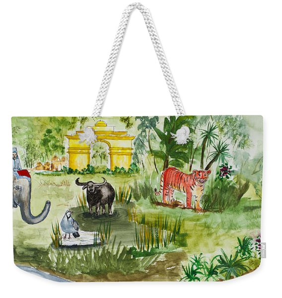 India Friends Weekender Tote Bag