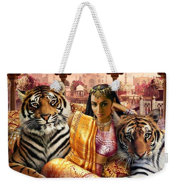 Indian Princess Weekender Tote Bag
