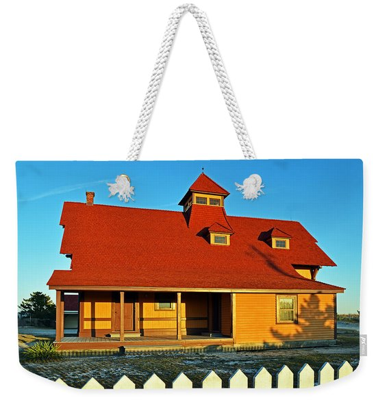 Indian River Lifesaving Station Museum Weekender Tote Bag