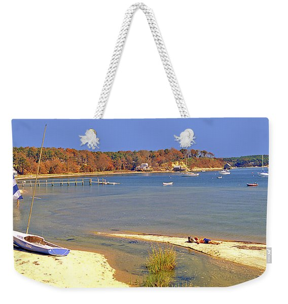 Indian Summer Afternoon Pleasant Bay Cape Cod Massachusetts Weekender Tote Bag