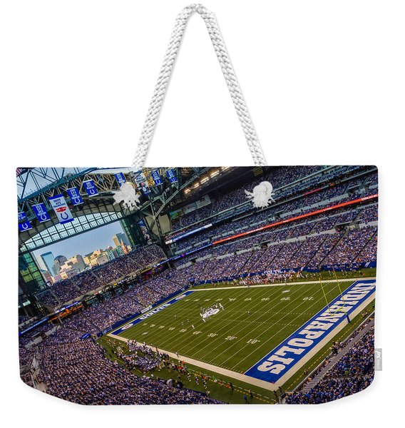 Indianapolis And The Colts Weekender Tote Bag