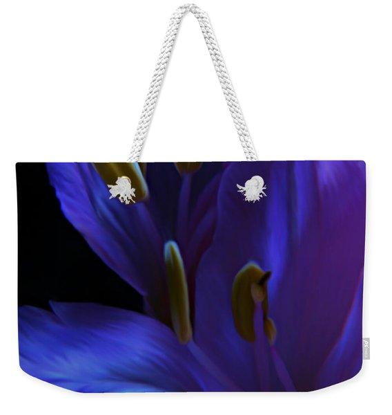 Indigo Weekender Tote Bag