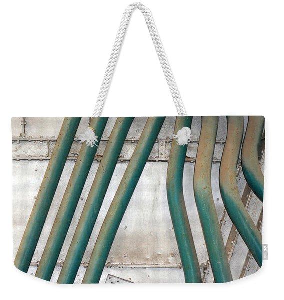 Industrial Art Weekender Tote Bag
