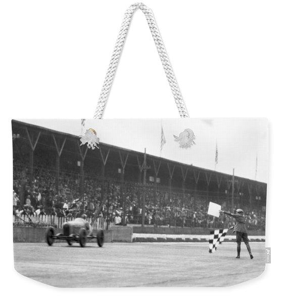 Indy 500 Victory Weekender Tote Bag