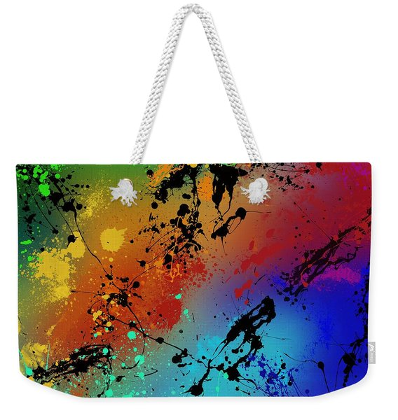 Infinite M Weekender Tote Bag