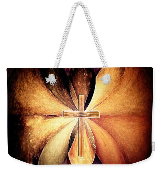 Infinite Serenity Weekender Tote Bag