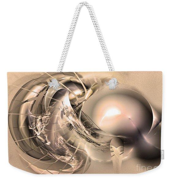 Initium - Abstract Art Weekender Tote Bag